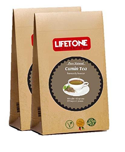 El uso tradicional más común del comino es para la indigestión; Tomar una taza de té de comino todas las mañanas lo ayudará a acelerar la digestión normal Encontrará que nuestro té de comino Lifetone es aromático, tiene ganas de verter comino fresco ...