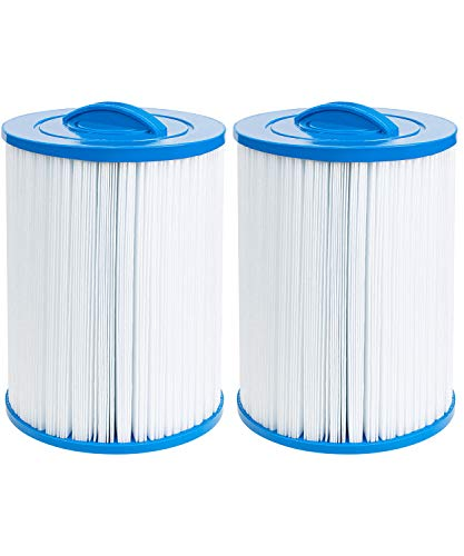 Future Way Hot Tub Filter Replacement for Waterway Front Access Skimmer, Pleatco PWW50P3, Unicel 6CH-940, Filbur FC-0359, 45 sq.ft Screw in Hot Spring Spa Filter Cartridges, 2-Pack