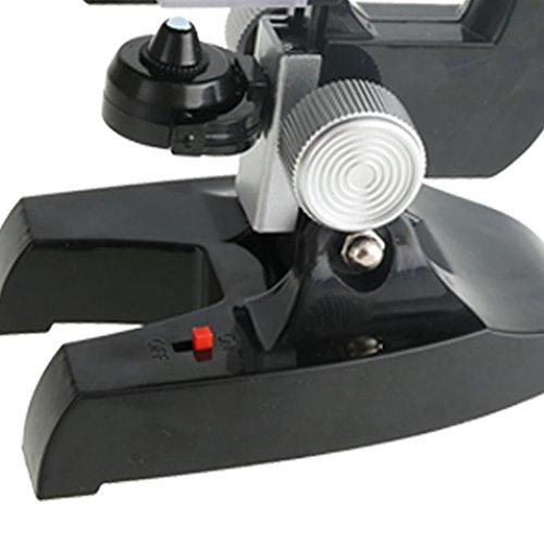 zantec Wissenschaft Kits für Kinder Anfänger Mikroskop mit LED 100x 400x und 1200x Wissenschaft Educational Spielzeug Geschenk