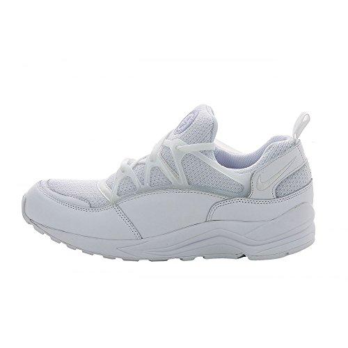 Air Huarache luce Mens degli addestratori delle scarpe da tennis 306127 (UK 9 US 10 Eu 44, Bianco Bi