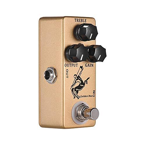 CAMOLA MOSKY Golden Horse Overdrive Boost Gitarre Effektpedal Overdrive Gitarreneffekt Pedal True Bypass Vollmetallschale