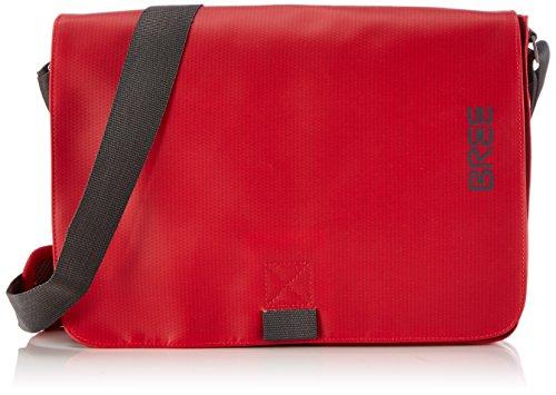 BREE Pnch 62 83900062 Unisex-Erwachsene Schultertaschen 34 x 24 x 8 cm (B x H x T), Rot (red 152)