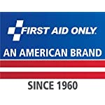 First aid only all-purpose medical first aid kit, 320 pieces emergency kit of first aid supplies 25 contains 299 essential first aid supplies for treating minor aches and injuries clear plastic liner in nylon case for organization and easy access to first aid supplies in an emergency soft sided, zippered case ideal for home, travel and on the go use