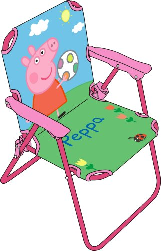Peppa Pig Sedia Regista Pieghevole, in Tessuto