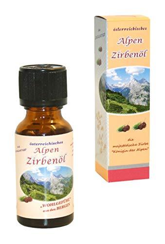 ZIRBENÖL premium - 100% naturreines ätherisches Zirbelkiefernöl aus Österreich - Duftöl - für Raumduft-Diffuser - Aromatherapie (30ml)