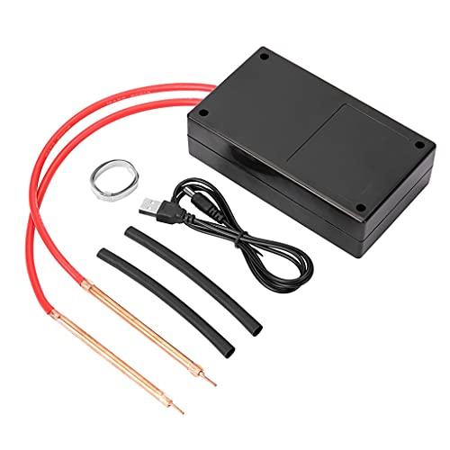 Release Mini máquina de Soldadura por Puntos 6 Engranajes para Equipo batería 18650 con bolígrafo níquel portátil (Color : Black, Size : 140x80x40mm)