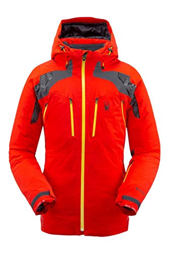 Spyder Mens Pinnacle GTX Skijacke (Volcano), S