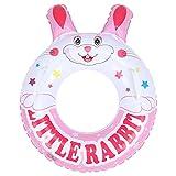 Flotadores inflables para piscina, lindo anillo de natación, anillo de natación Tubo de flotador de piscina inflable Lindo tubo de natación redondo para niños