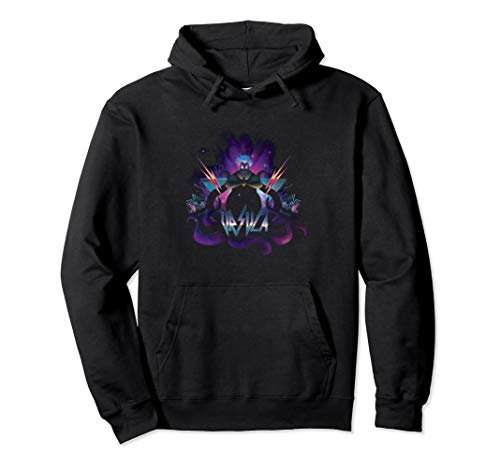 Disney Villains Ursula 80's Style Hoodie for Adults, S to 2XL