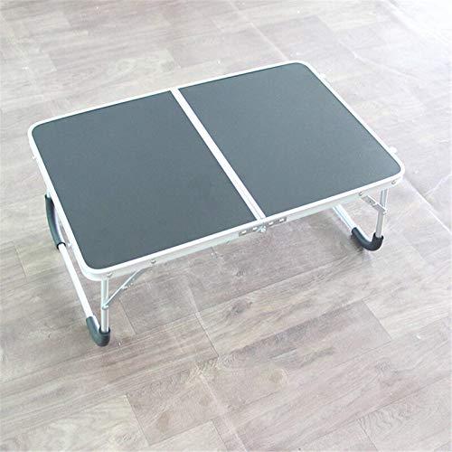 AOWU Mesa auxiliar plegable doble para ordenador portátil, portátil, portátil, plegable, mesa...