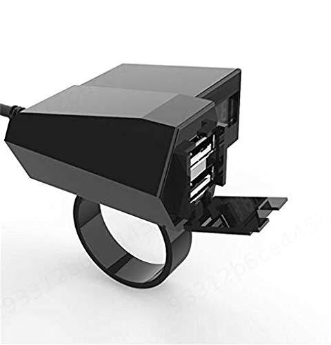 CLTYQ Moto Cargador rápido Adaptador Dual 3.1A USB Cargador de Coche a...