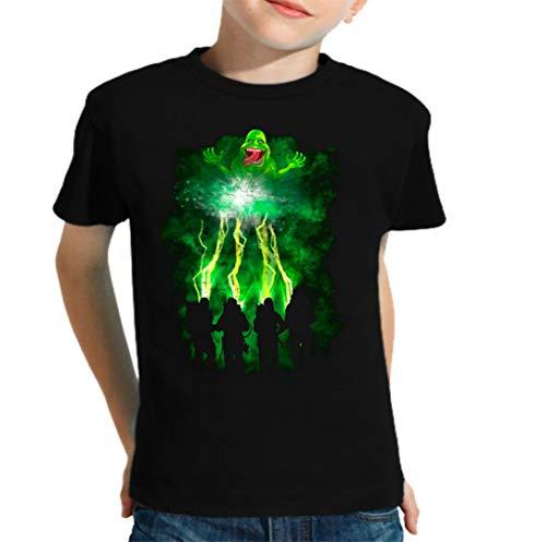 The Fan Tee Camiseta de NIÑOS Cazafantasmas Ghostbusters Mocosete Retro 001