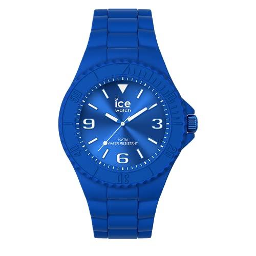ICE-WATCH ICE Generation Flashy Blue - Reloj Azul para Hombre con Correa de Silicona, 019159 (Medium)