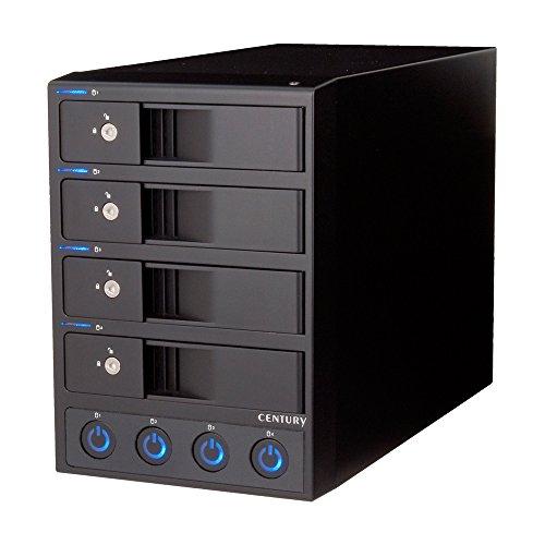 センチュリー独立電源スイッチ搭載USB3.0接続3.5インチSATA-HDDケース「裸族のカプセルホテルVer.2」CRCH35U3IS2