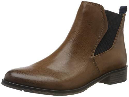 MARCO TOZZI Damen 2-2-25040-33 Chelsea Boots, Braun (Cognac Antic 310), 40 EU