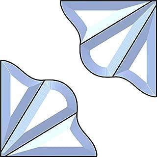 Trinity Corners Bevel Cluster - Set of 2