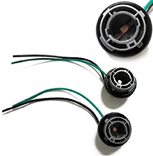 iJDMTOY 1156 7506 Wiring Harness Sockets For LED Bulbs, Turn Signal Lights, Backup Lights