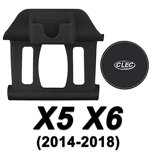 AYADA Handyhalterung für BMW X5 F15 X6 F16, X5 Handyhalterung Handy Halter Starker Magnet Stabil 360° Drehung Hände Frei Einfache Montage BMW X5 Zubehör BMW X6 Accessories (Magnet)