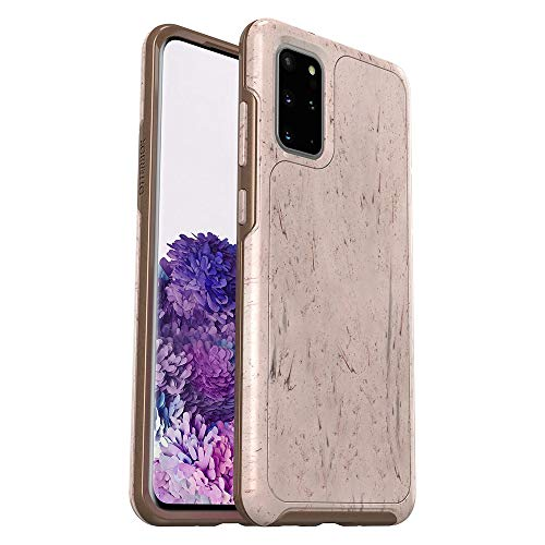 OtterBox SYMMETRY CLEAR SERIES Case for Galaxy S20+/Galaxy S20+ 5G - SET IN STONE (STONE RED/ROSE GOLD/SET IN STONE IML)