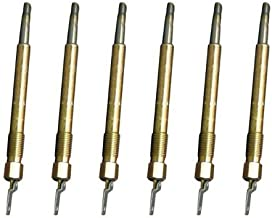 304131R3 Six Glow Plugs Made To Fit Case-IH Tractor Models 340 460 504
