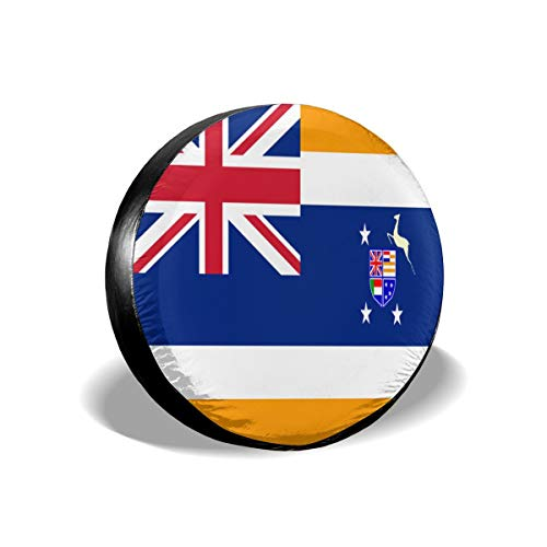 Huabuqi Union of South Africa Flag Universal Reserverad Typ Abdeckung Radkappen 17inch
