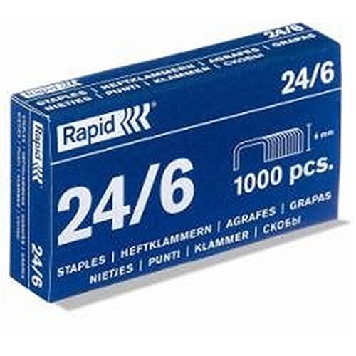 Grapas 24/6 Pack Marca Rapid
