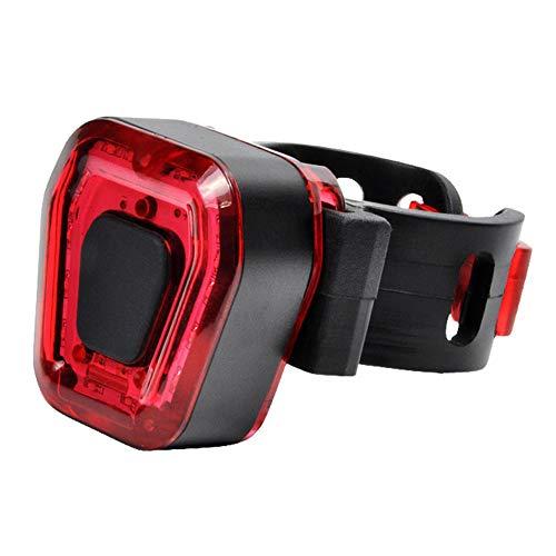 SHIZIZUO Luz trasera de bicicleta, luces traseras de bicicleta, 14 LED de bicicleta impermeable luz trasera USB recargable de la bicicleta de la lámpara de advertencia
