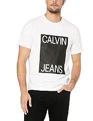 Calvin Klein Jeans Hombre Box Logo Camiseta