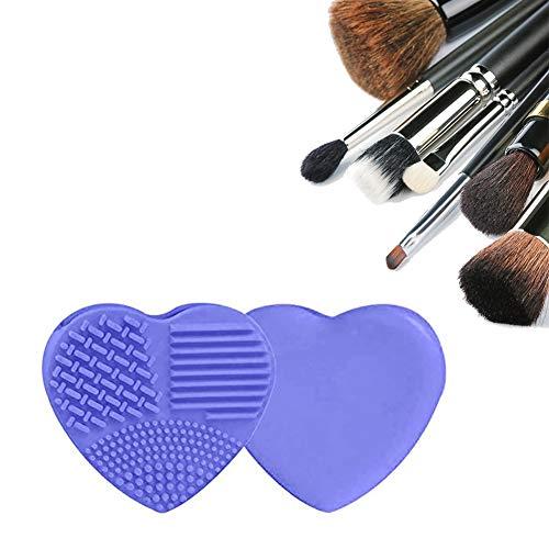 Xiton 1PC Cepillo De Silicona Limpia Brochas Maquillaje Maqu