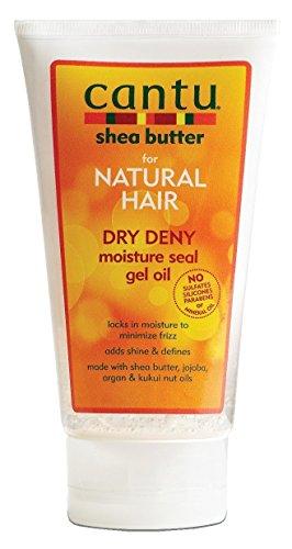 Cantu Naturel Deny cheveux secs humidité Seal Gel huile 5 Tube Ounce (de 145ml) (2 Pack)