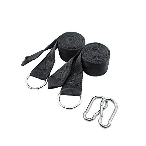 Sièges balançoires Hamac extérieur simple attaché hamac avec corde, kit de suspension pour balançoire à boucle de sécurité Ensemble de balançoire pour aire de jeux