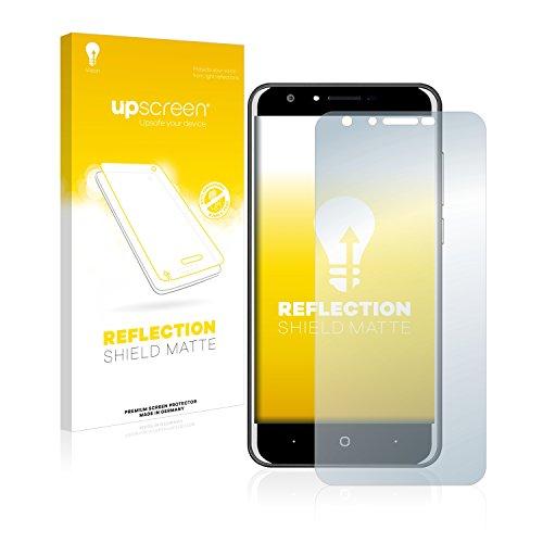 upscreen Entspiegelungs-Schutzfolie kompatibel mit Doogee Y6C – Anti-Reflex Bildschirmschutz-Folie Matt