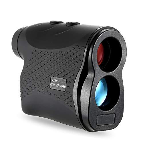 POOPFIY 1500m / 1000m / 600m Golf Laser Entfernungsmesser Jagd Laser-Distanzmessgerät monokulare Laser-Distanzmessgerät Speed Tester Laser-Entfernungsmesser,450m