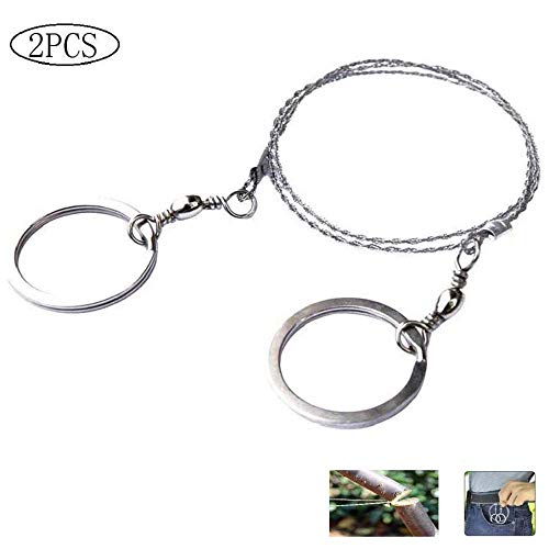 Emergency Survival Saws Wire Saw Useful Hiking Gear Steel Wire Saw Outdoor Tool