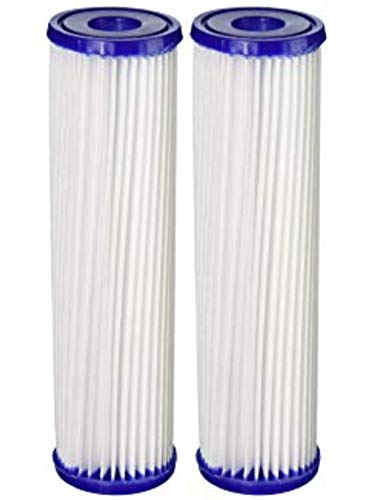 """5 Micron 20"""" Big Blue Pleated Sediment Water Filter Replacement Cartridge 