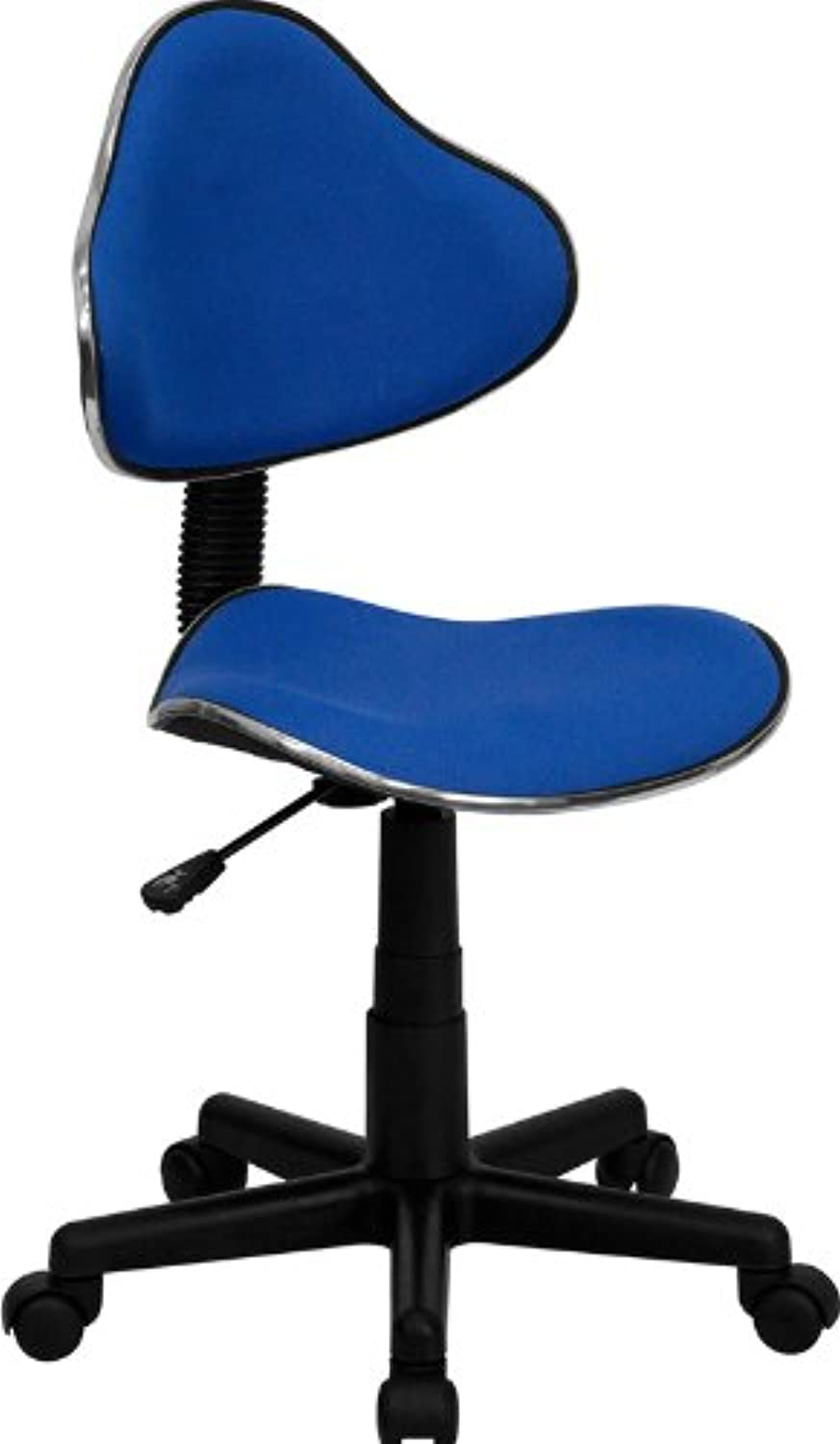 Flash Furniture BT-699-blueE-GG bluee Fabric Ergonomic Task Chair