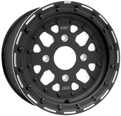 4 136 Douglas Sector Beadlock Wheel 15x7 3.25 Black 3.5 + Indianapolis Mall Ca for Now free shipping