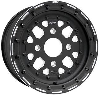 4/156 Douglas Sector Wheel 15x8 4.5 + 3.5 Black for Polaris RANGER RZR XP 4 TURBO DYNAMIX Edit. 2018