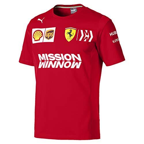 Puma Ferrari Team Herren T-Shirt Rosso Corsa S