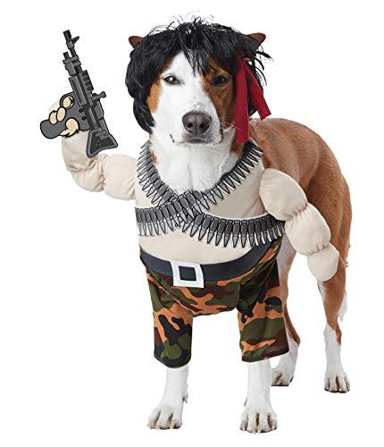 Multi Action Hero Dog Costume