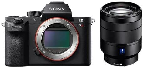 Sony a7R II Alpha Full Frame Mirrorless Digital Camera Body - with 24-70mm f/4 Vario-Tessar T FE ZA OSS, Full Frame, E-Mount NEX Camera Lens