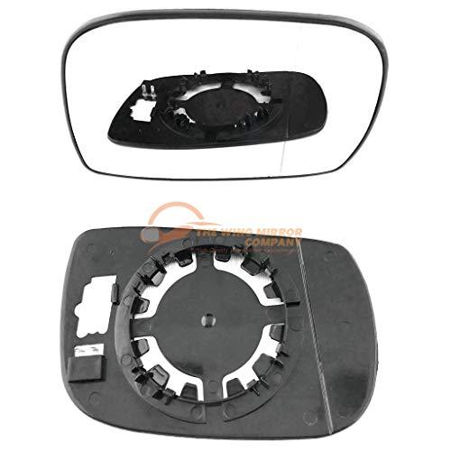Preisvergleich Produktbild Driver Rechts Seite Flügel Tür Silber Spiegelglas mit Trägerplatte c-sn / r-siwn00 [Clip auf]
