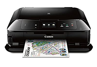 Canon MG7720 Wireless All-In-One Printer with Scanner and Copier: Mobile and Tablet Printing, with Airprint(TM) and Google Cloud Print compatible, Black