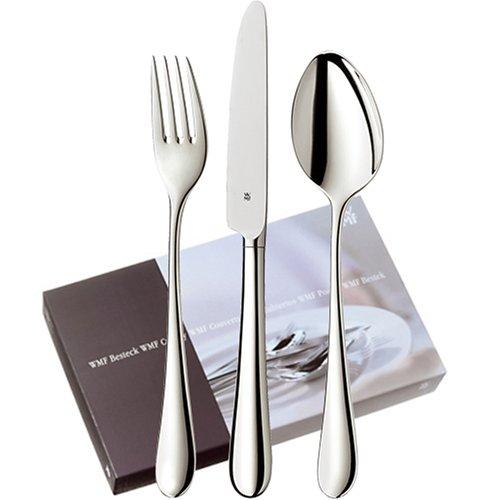 WMF 1040006063 Silber-Besteck Merit basic set 24-teilig