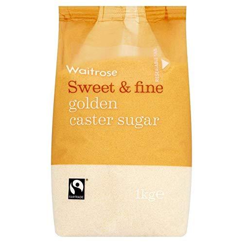 Waitrose Golden Caster Sugar - 1kg (2.2 lbs)