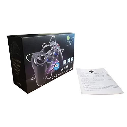 Gamepad für PC/Laptop (Windows XP/7/8/10) & PS3 & Android & Steam – Schwarz
