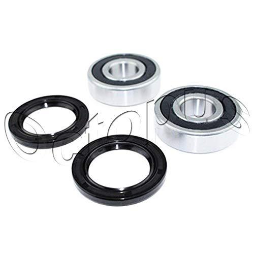 Compatible for Honda TRX450R TRX450ER Twin Row Rear Axle Wheel Bearing Seal Kit Lonestar RAD (Aftermarket Parts)