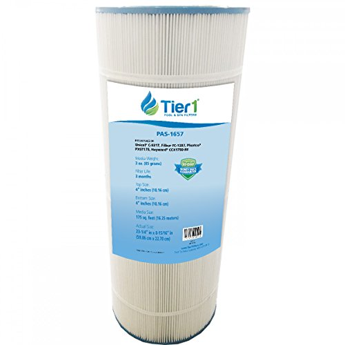 Tier1 Replacement for Hayward CCX1750-RE, X-Stream, Clearwater II, Pro Clean, Pleatco PXST175, Filbur FC-1287, Unicel C-8317 Filter Cartridge