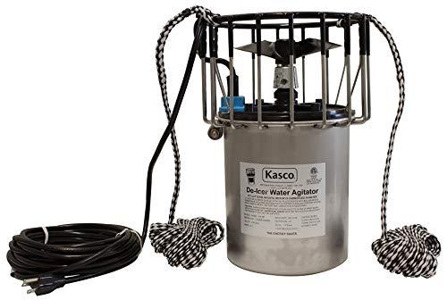 Kasco 3400D050 3400D 3/4 HP Marine De-Icer - 120V Single Phase, 60Hz, 50' Cord