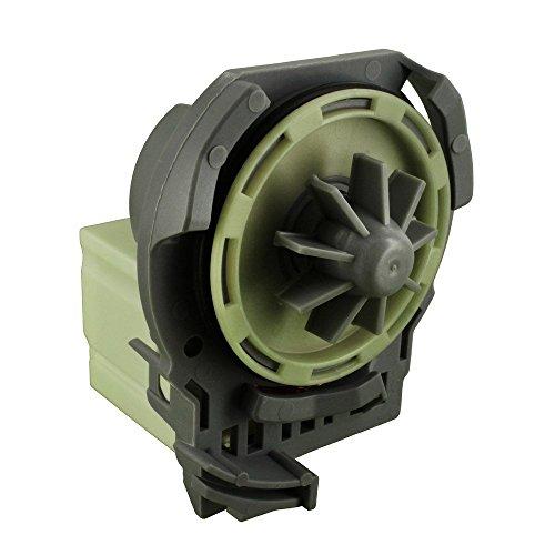 EUROPART nicht Original Whirlpool Ablaufpumpe Pumpe Boden passend für Fagor LFU/Bauknecht ADV/GSF/GSX/IGNIS ADL/ADG/ADP/G2Serie